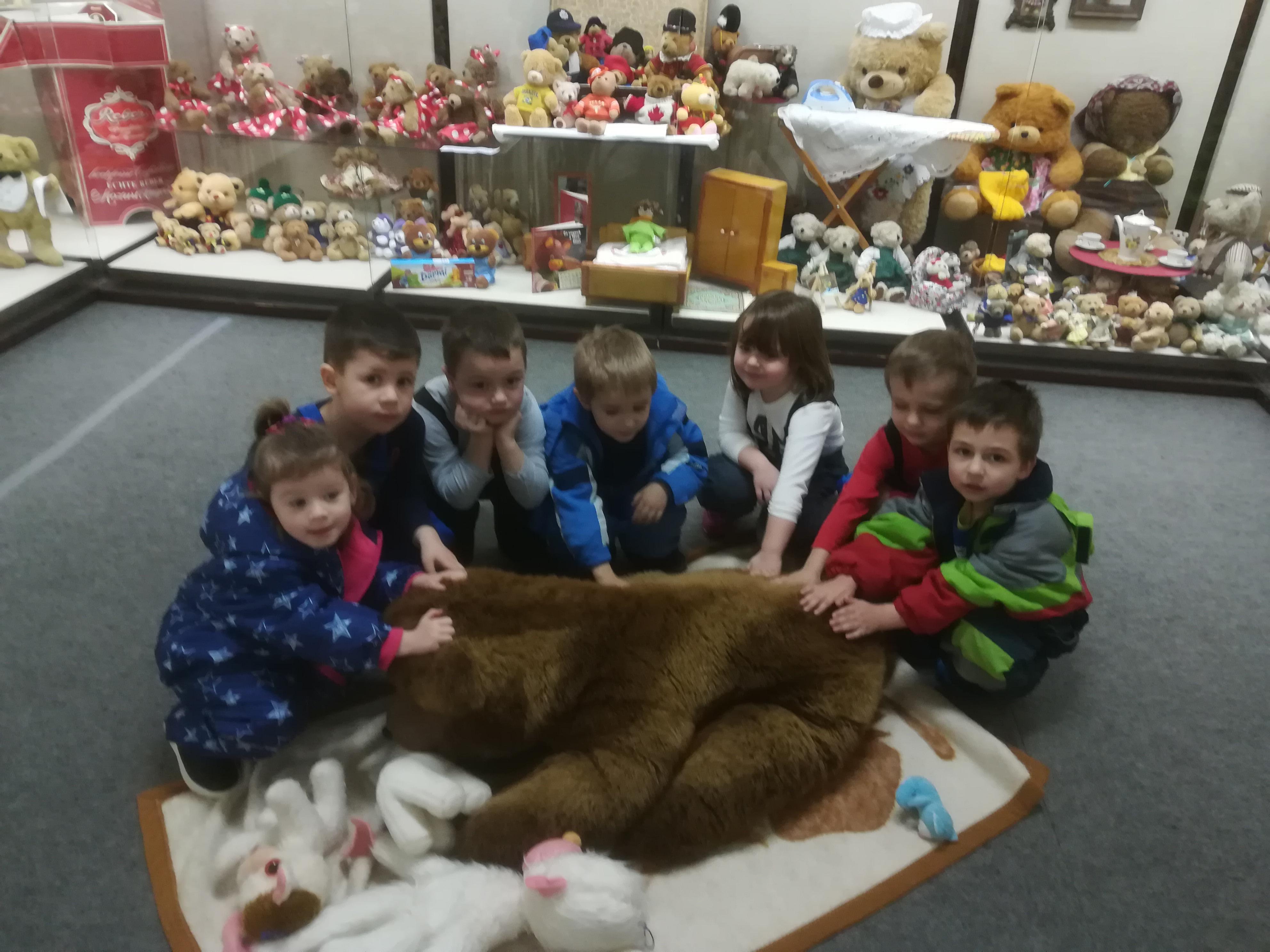 Výstava medvedíkov